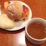 ノザンセートル ドゥ ドゥマン - この日のスープはオニオンスープ