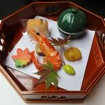 さざなみ館 - 料理写真:八寸:旬の前菜盛合せ。