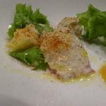 ユーロバル マテーラ - ちょい呑みセット:オススメ前菜3種盛合せ・蛸とジャガイモのガルシア風