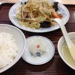 33238077 - 野菜炒め定食