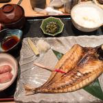 呑み喰い処 かね広 - 日替わり定食(とろあじ)