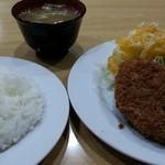 キッチンヨッチ - アラカルト コロッケ・メンチカツ 2014.12