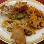 三井ガーデンホテル千葉 - ブッフェの料理