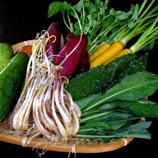 地元恩納村の農家から毎日新鮮な島野菜を仕入れています!