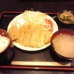 ひさまつ喰彩 - ロースカツ定食 920円(税込)