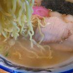 ラーメン秀来 - 天塩らーめんの麺