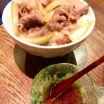 ウォッカトニック - マッカラン牛丼