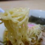 十文字屋 - 美味しい縮れ麺。