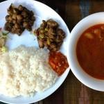 カトマンドゥ - Dinner Set B《ディナーセットB》1300円
