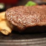 ステーキハウス ビーフオークマ - 近江牛フィレステーキ