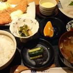 ピアロード - 料理写真:2012年8月 1泊夕食付きプランの鮭フライ定食