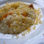 ヴィア・デル・ボルゴ - 柿とチーズのリゾット