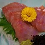 季節料理くら井 - 金目鯛刺身680円 うまーい!!^^見てこのキレイな色!