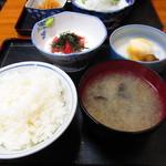 ときわ食堂 - 料理写真:山かけ定食