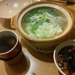 なか屋 - 湯豆腐とヒレ酒(o^O^o)