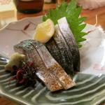 うまい魚と炭火焼 泰三屋 - 鯖