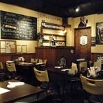 Irish pub Booties・・・ - 壁の絵。。。誰だっけ?