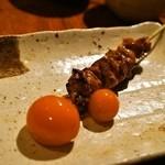 焼き鳥 丈参 - 2014.12 ちょうちん(卵巣卵管)