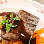 ビストロゼブラ - 牛ステーキ