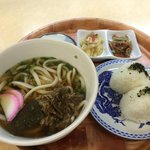 おいでませ吉部 - 肉うどん定食650円☆(第一回投稿分④)