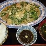 寿味食堂 - 料理写真:ゴーヤチャンプルー定食