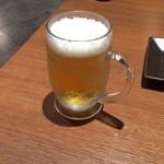 キムカツ - 生ビール