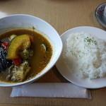 珈琲工房柏丘 - 料理写真:柏丘スープカレーセット