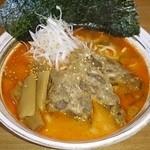 ゆき坊 - 限定  牛骨辛口味噌ラーメン