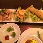 KHANHのベトナムキッチンNAMBA 999 - 前菜3種