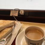 ドトールコーヒーショップ - トーストと、今日のコーヒー