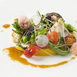 葉山ホテル音羽ノ森 - 湘南の地野菜をふんだんに使用しています