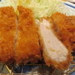 Tonkatsuhamakatsu - 断面