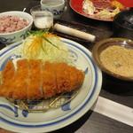 Tonkatsuhamakatsu - 特選ロースカツ定食