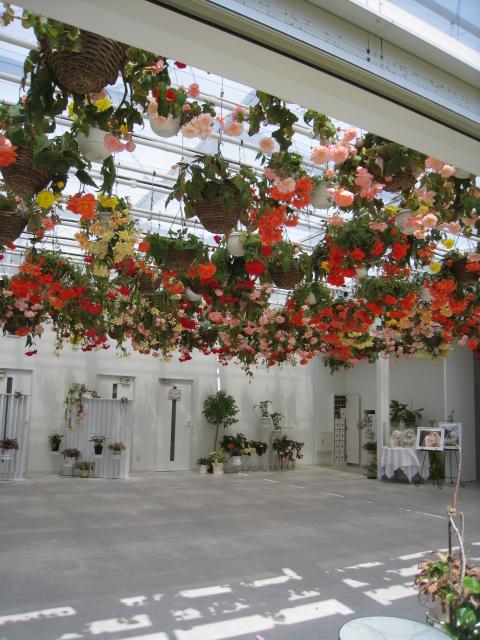 杜の七種 - チャペル内、いつもお花が綺麗・・・