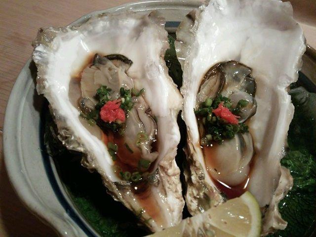 柳鮨 - 生牡蠣
