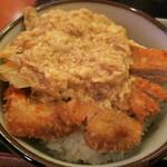 めん坊 - カツ丼