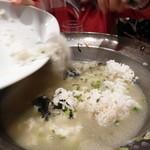 井の頭 汁べゑ - 〆の雑炊
