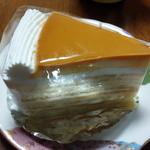 パンドラの箱 - プリンののったケーキ