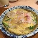 澤 - ひこま豚の卵とじ 旨し!
