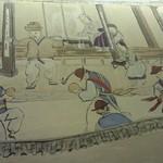 炭火焼肉・ホルモン 渋谷 徳ちゃん  - 壁画