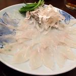 フグ料理ひょうたん - ふぐさし(1人前)