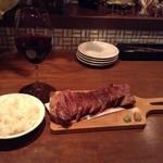 33275231 - 【夜の定食】香川オリーブ牛の赤味