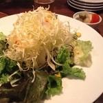 33275241 - 【夜の定食】サラダ