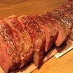 六本木 肉とワイン Uchibito - 【夜の定食】シンプル イズ ベストですな。