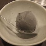 焼肉竹林 - 胡麻アイス
