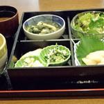 味矧 - 主菜を選べる日替りランチ800円