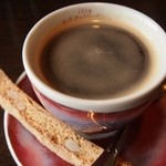 BAR MOTORE - コーヒーとビスコッティ