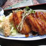 お食事処 いち望 - アジフライ定食(日替わり定食)
