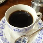 逢憂都場庵 - 2012年9月 セットのコーヒー スプーンがオシャレ♪