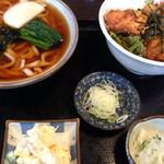 峠の茶屋 - 竜田丼セット